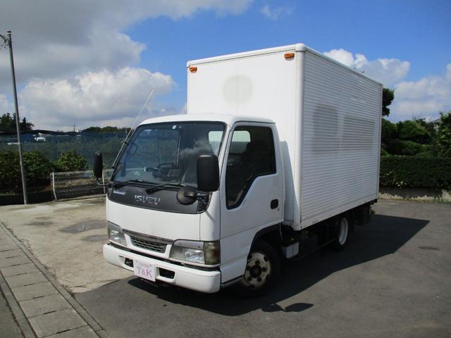 いすゞ エルフトラック  アルミバン 2トン パワーゲート車