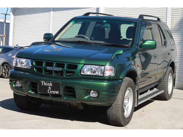 いすゞ ウィザード LS 4WD キーレス 純正ホイールラジアルタイヤ 社外ホイールスタッドレス 磨き 艶撥艶 ガソリン