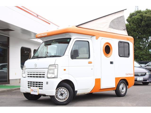 マツダ キャンピングカー バンショップミカミ製テントむし 1オーナー