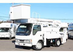エルフトラックフルフラットロー 高所作業車SH15A 14.6M