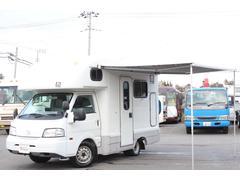 ボンゴトラックキャンピングカー AtoZ製アミティ FF 2段ベッド