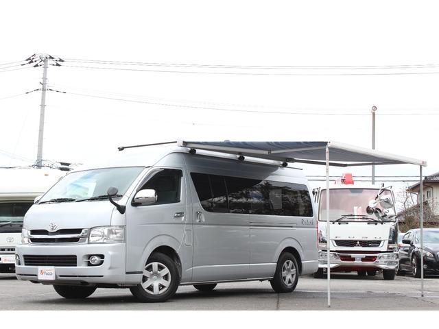 トヨタ ナッツRVラディッシュ 1オーナー オーニング インバーター