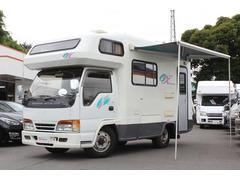 エルフトラックキャンピングカー ヨコハマモーターセールス製オックス FF