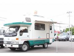 カムロードキャンピングカー バンテック製ジル 4WD ルーフエアコン