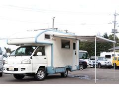 タウンエーストラックキャンピングカー バンテック製アトム405 FF オーニング