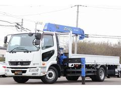 ファイタータダノ5段クレーン 増トン 積載4.5t ラジコン 三方開