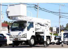 エルフトラック高所作業車 アイチ SH15B 電工仕様 高さ14.6m
