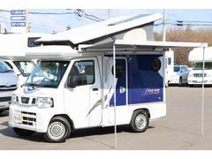 クリッパートラックキャンピングカー 東和モータース製インディ108 FF