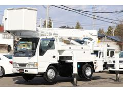エルフトラック高所作業車 アイチ SH15A 電工仕様 高さ14.6m