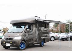 ライトエーストラックキャンピングカー AtoZ製アトム 4WD 楽座クーラー