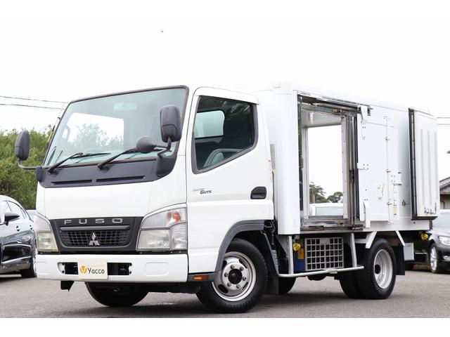 三菱ふそう 冷蔵冷凍車-30℃ 東プレコールドトップ 最大積載1.5t
