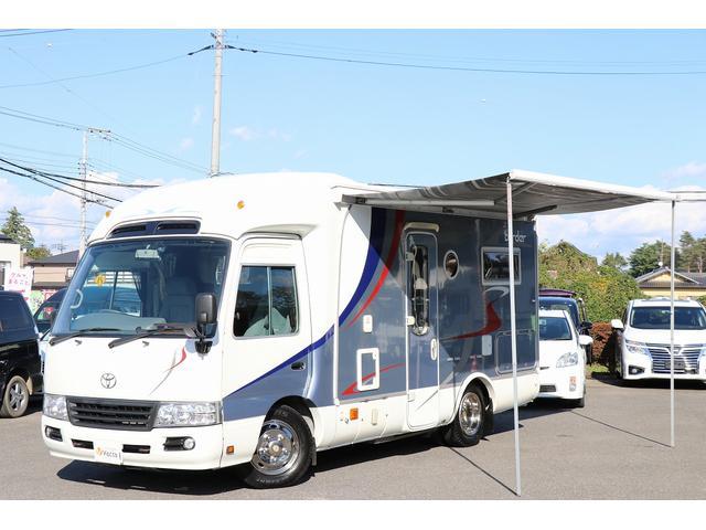 トヨタ ナッツRV製ボーダー 家庭用AC FF ソーラー オーニング