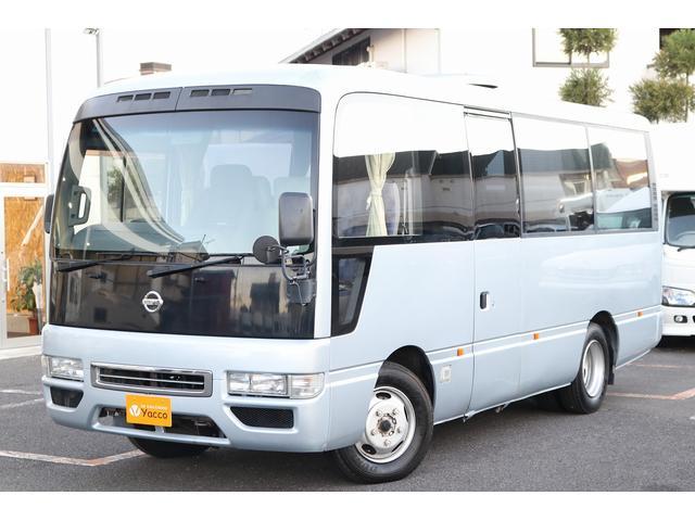 日産 シビリアンバス ハタナカ製キャンピングカー 4.9DT FF インバーター