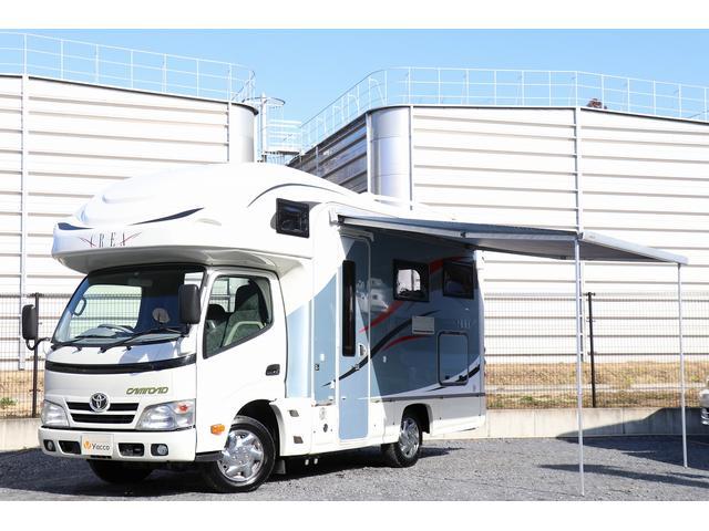 トヨタ ナッツRVクレア5.3X FF ソーラー オーニング 2サブ