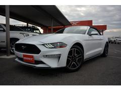 フォード マスタングコンバーチブル エコブーストプレミアム現行18y 1オーナー