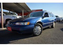 フォード トーラスワゴンGL 正規D車 車庫保管 フロントベンチ 8人乗り