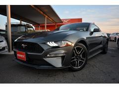 フォード マスタング2018年新型 エコブーストプレミアム 走行証明書