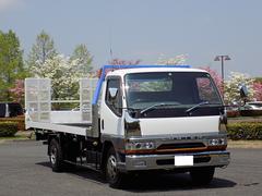 キャンターキャンターワイド 3t積載車 ローダー 自動アユミ付き