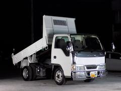 エルフトラック保証付き エルフ 2t ダンプ 左側電動格納ミラー ETC