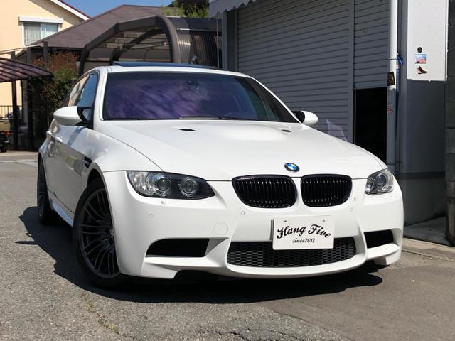 BMW M3 黒革 左H サンルーフ ナビ・Bカメラ