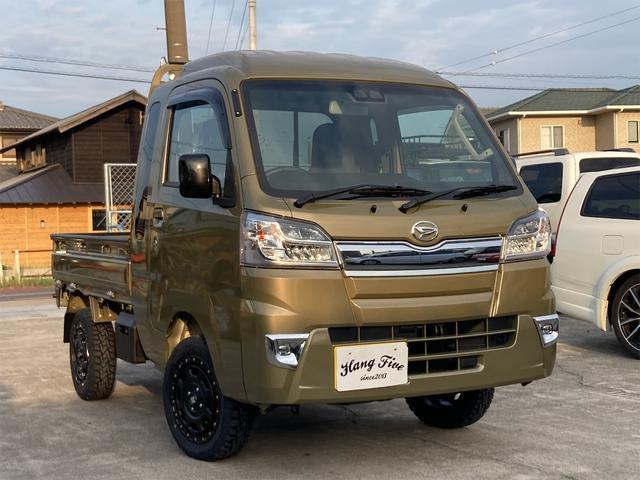 ダイハツ ハイゼットトラック ジャンボSAIIIt 令和3年1月28日登録 新規2インチリフトアップ 新品アルミホイール 新品TOYOオープンカントリーRTタイヤ 強度計算書付き