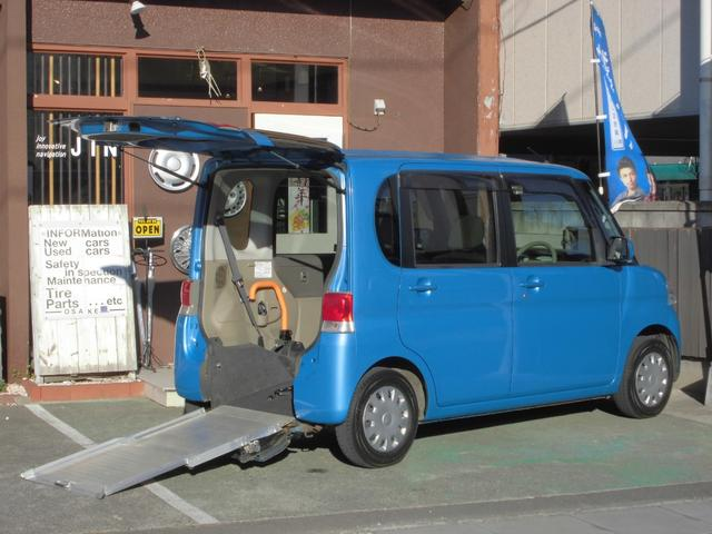 ダイハツ L スローパー 4人乗電動固定式タイプ 福祉車両 新品ナビ