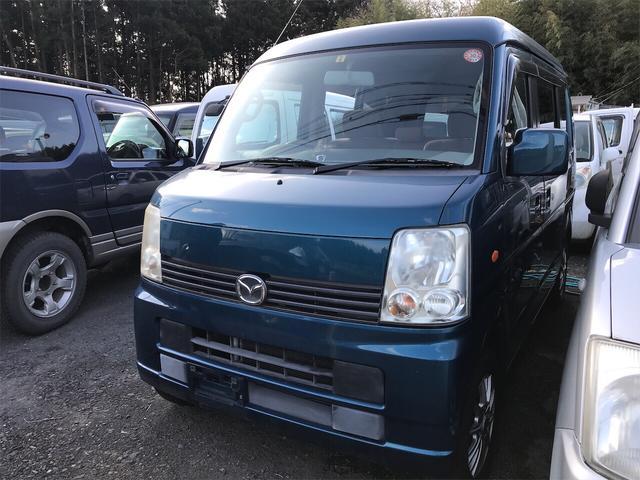 マツダ スクラムワゴン PX 軽自動車 ターコイズグリーンパールメタリック AT