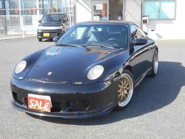ポルシェ 911 911カレラ ティプトロニックS 黒革 ナビ フルセグBBS
