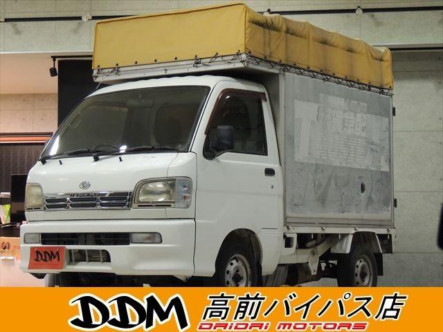 ダイハツ トラック660 3方開 4WD キャンピングベース タイベル交換済