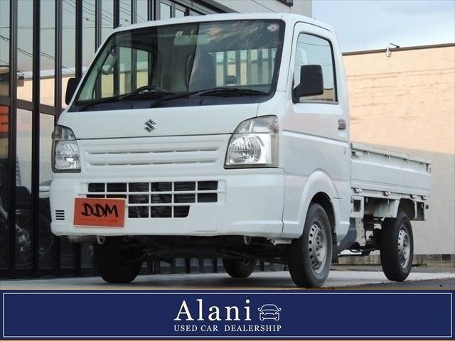 スズキ キャリイトラック KCエアコン・パワステ トラック660KCエアコン・パワステ3方開 4WD 現行  エアコン パワステ 5MT