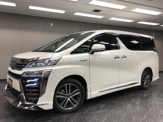 トヨタ ヴェルファイアハイブリッド ZR Gエディション 新車 モデリスタエアロ ムーンルーフ