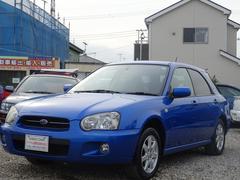 インプレッサスポーツワゴン15i   ETC ABS キーレスCD ブルー