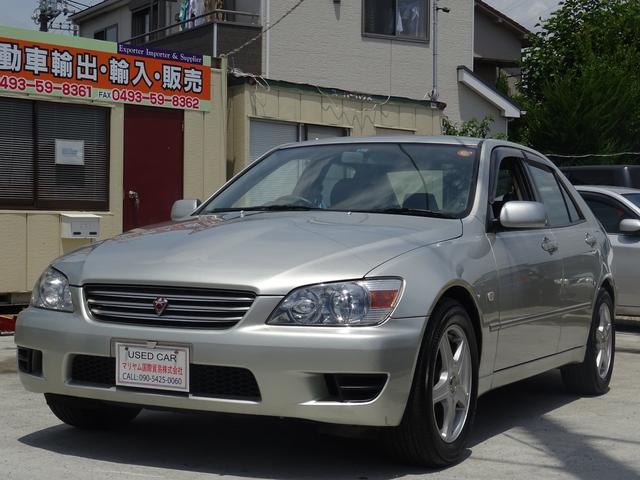 トヨタ アルテッツァ AS200 ワンオーナーETC ABS 2DINナビ 167