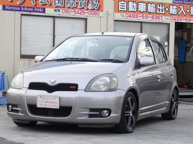 トヨタ ヴィッツ RS  社外マフラー電動ミラー168