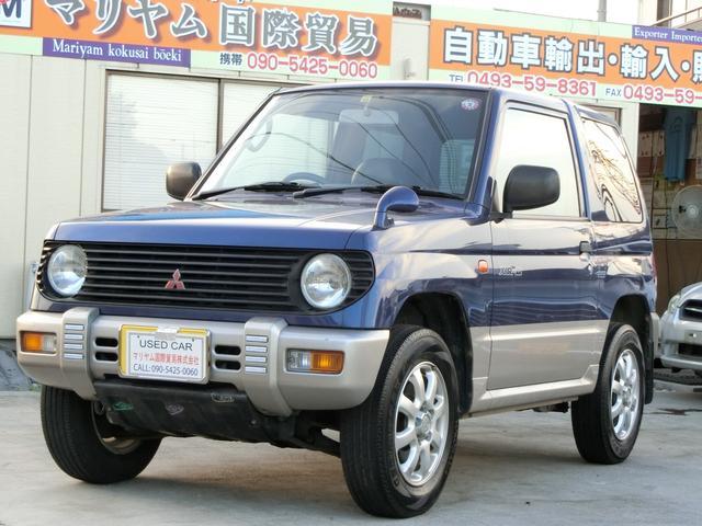 三菱 パジェロミニ XR-II 5速マニュアル タイミングベルト交換済みステカ あり パワーウィンドウ  129