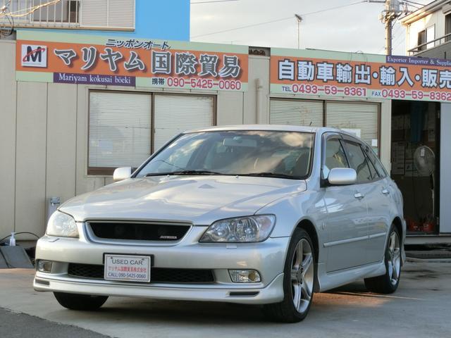 トヨタ アルテッツァジータ AS300 走行距離31766KMキーレス DVDナビ ETC  助手席エアバック/ETC/MTモード付き サンルーフ  24  266