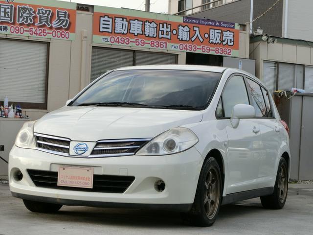 日産 ティーダ 18G 6速マニュアルT-チェン式エンジン 運転席エアバック 助手席エアバック/キセノンライト 22 103