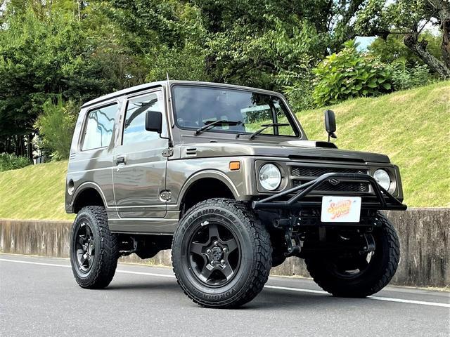 スズキ ジムニー ランドベンチャー 4WD ターボ 5MT 2インチリフトアップ