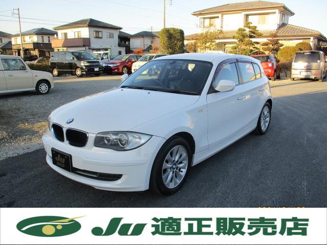 BMW 1シリーズ 116i 純正16インチアルミ ポータブルナビ TV Bカメラ HID ETC Pスタート