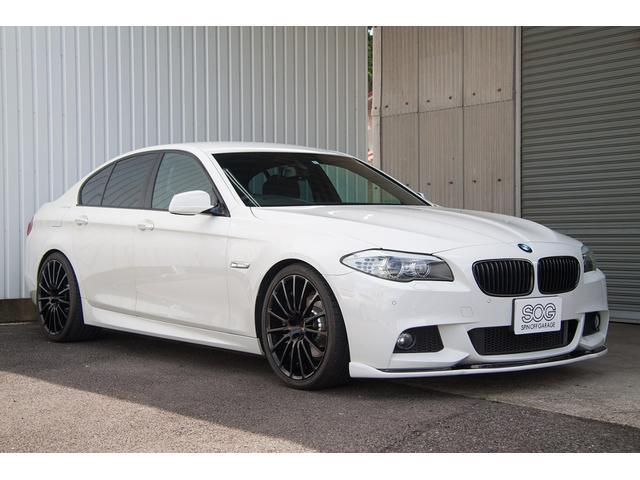 BMW 523iMスポーツ 20AW マフラー カスタム 記録簿禁煙