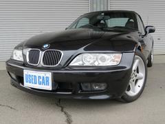 BMW Z3ロードスターベースグレード 右ハンドル 黒革シート 純正アルミ