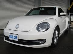 VW ザ・ビートルデザイン 純正SDナビ 純正AW ワンオーナー キーレス