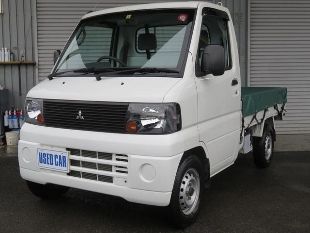 三菱 ミニキャブトラック Vタイプ MT 4WD AC PS 荷台シート&マット付