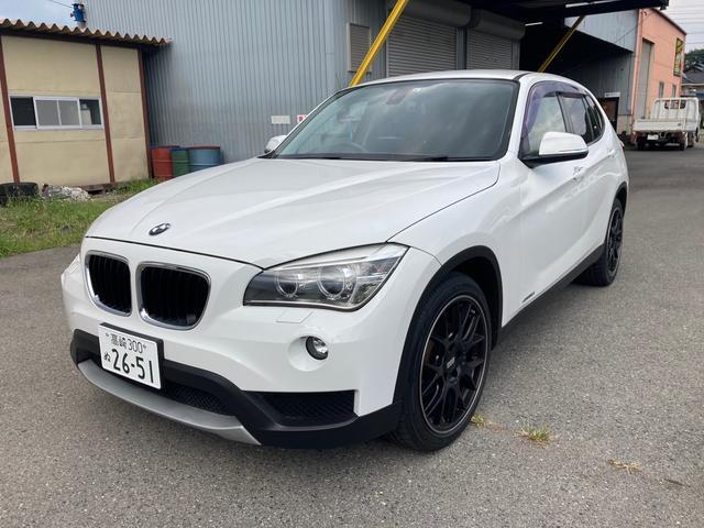 BMW X1 sDrive 18i HIDヘッド ETC スマートキー オートライト ナビ