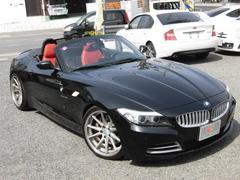 BMW Z4sDrive35i 赤革 左H ワーク19AW ローダウン