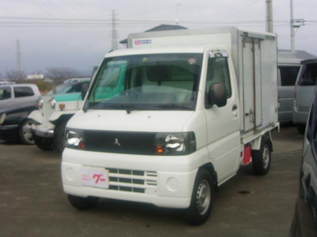 三菱 ミニキャブトラック ベースグレード 冷凍 冷蔵車 5速マニュアル エアコン