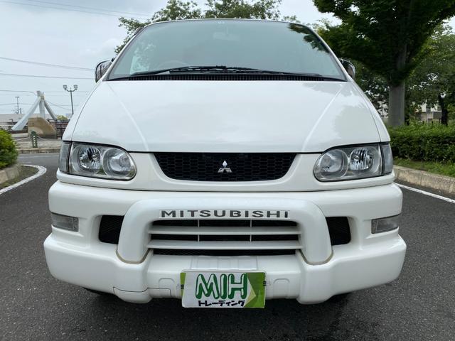 三菱 デリカスペースギア シャモニー 4WD オートステップ タイミングベルト交換済