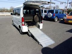 エブリイワゴンスローパー 車いす移動車 4WD 電動ウインチ