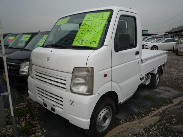スズキ 5速マニュアル車 4WD 走行81100km AC PS