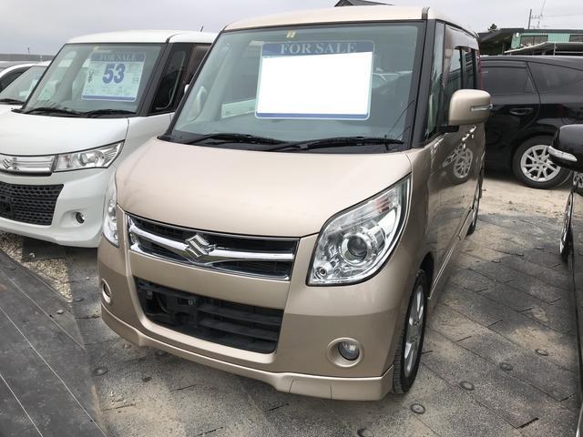 スズキ XS ナビ 軽自動車 クリアベージュメタリック 車検整備付